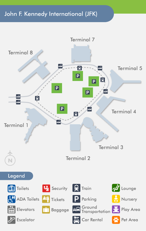 jfk map terminal 8 Jfk Airport Terminals John F Kennedy International Airport jfk map terminal 8
